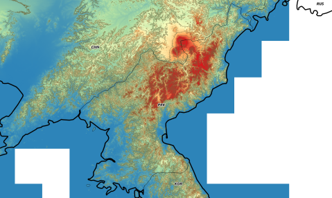 nordkorea_elevation