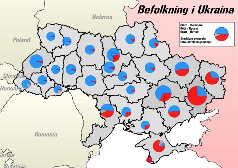Ukraina Befolkning