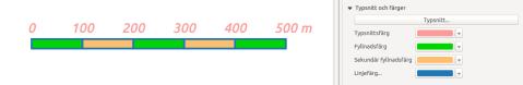 scale bar QGIS