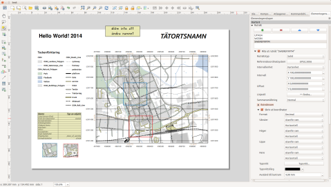 qgis map coordinate system